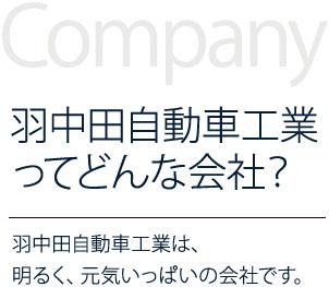 羽中田自動車工業ってどんな会社?